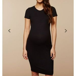 Dresses & Skirts - Ribbed T-shirt midi